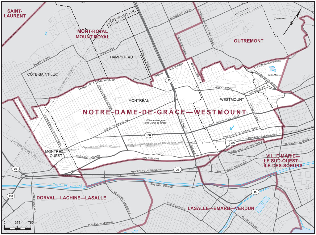 Elections_Cda_NDG-W_riding_map