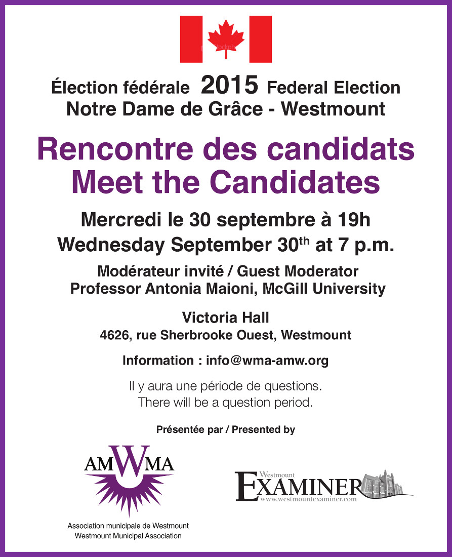 Meet The Candidates 2015-09-30